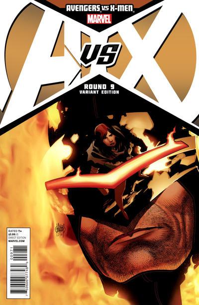 Cover for Avengers vs. X-Men (Marvel, 2012 series) #9 [Stegman Sketch Variant]