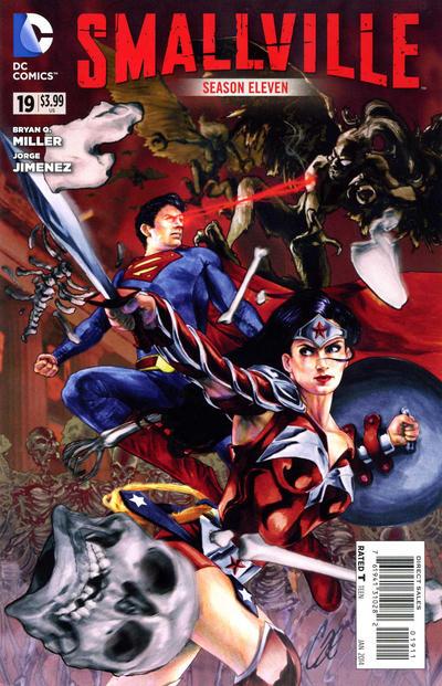 Cover for Smallville Season 11 (DC, 2012 series) #19