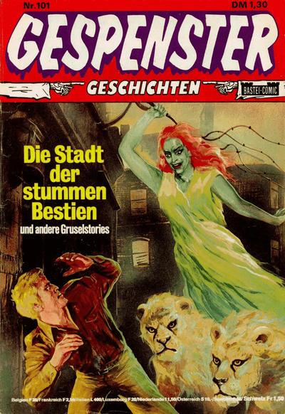 Cover for Gespenster Geschichten (Bastei Verlag, 1974 series) #101