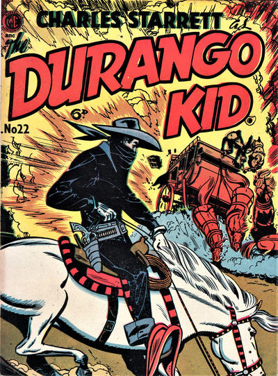 Cover for Durango Kid (Compix, 1952 series) #22