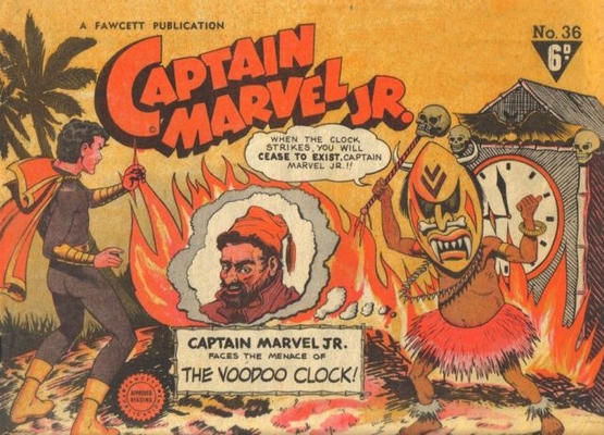 Cover for Captain Marvel Jr. (Cleland, 1947 series) #36