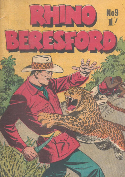 Cover for Rhino Beresford (Yaffa / Page, 1966 series) #9