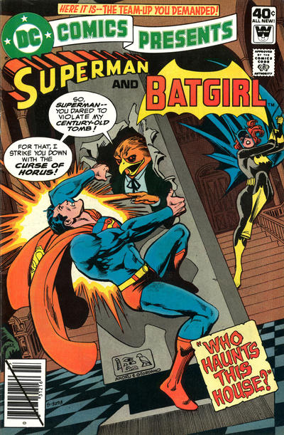 Cover for DC Comics Presents (DC, 1978 series) #19
