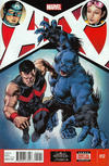 Cover for A+X (Marvel, 2012 series) #12