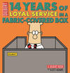 Cover for Dilbert (Andrews McMeel, 1994 ? series) #33 - 14 Years of Loyal Service in a Fabric-Covered Box