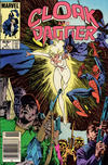Cover for Cloak and Dagger (Marvel, 1985 series) #3 [Newsstand Edition]