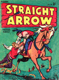 Cover Thumbnail for Straight Arrow Comics (Magazine Management, 1955 series) #34