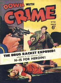 Cover Thumbnail for Down with Crime (Arnold Book Company, 1952 series) #52