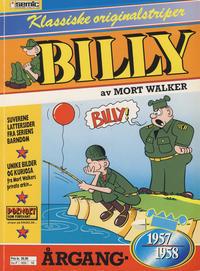 Cover Thumbnail for Billy Klassiske originalstriper (Semic, 1989 series) #1957/58 [2. opplag]