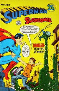 Cover Thumbnail for Superman Supacomic (K. G. Murray, 1959 series) #161
