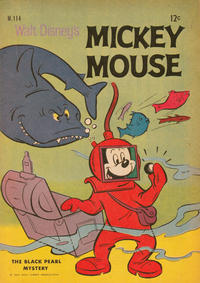 Cover Thumbnail for Walt Disney's Mickey Mouse (W. G. Publications; Wogan Publications, 1956 series) #114