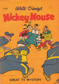 Cover Thumbnail for Walt Disney's Mickey Mouse (W. G. Publications; Wogan Publications, 1956 series) #108