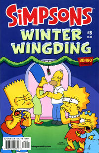 Cover Thumbnail for The Simpsons Winter Wingding (Bongo, 2006 series) #8