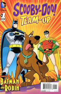 Cover Thumbnail for Scooby-Doo Team-Up (DC, 2014 series) #1 [Direct Sales]