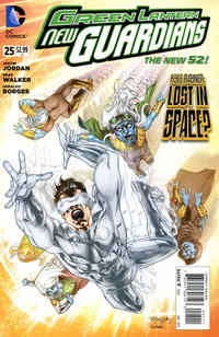Cover Thumbnail for Green Lantern: New Guardians (DC, 2011 series) #25