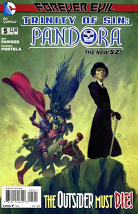 Cover Thumbnail for Trinity of Sin: Pandora (DC, 2013 series) #5