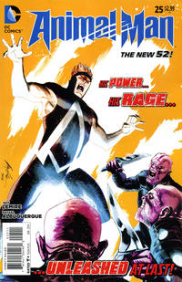 Cover Thumbnail for Animal Man (DC, 2011 series) #25