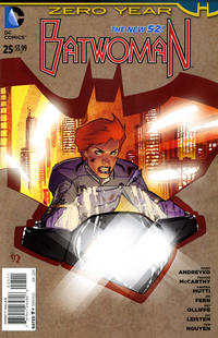 Cover Thumbnail for Batwoman (DC, 2011 series) #25