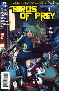 Cover Thumbnail for Birds of Prey (DC, 2011 series) #25