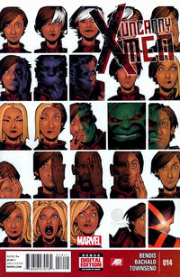 Cover Thumbnail for Uncanny X-Men (Marvel, 2013 series) #14 [Direct Edition]