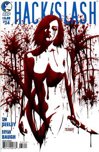 Cover Thumbnail for Hack/Slash: The Series (Devil's Due Publishing, 2007 series) #24 [Cover A Tim Seeley]