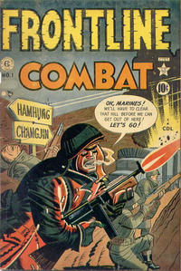 Cover Thumbnail for Frontline Combat (Superior Publishers Limited, 1951 series) #1