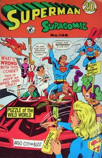 Cover Thumbnail for Superman Supacomic (K. G. Murray, 1959 series) #146