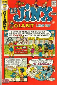 Cover Thumbnail for Li'l Jinx Giant Laughout (Archie, 1971 series) #41