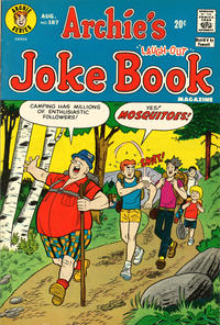 Cover Thumbnail for Archie's Joke Book Magazine (Archie, 1953 series) #187