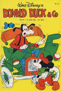 Cover Thumbnail for Donald Duck & Co (Hjemmet / Egmont, 1948 series) #25/1981