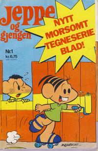 Cover Thumbnail for Jeppe og gjengen (Hjemmet / Egmont, 1977 series) #1