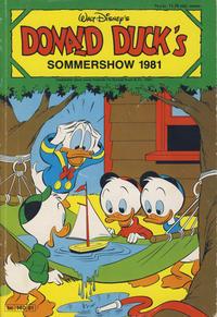Cover Thumbnail for Donald Ducks Show (Hjemmet / Egmont, 1957 series) #[39] - Sommershow 1981