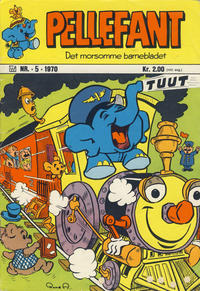 Cover Thumbnail for Pellefant (Illustrerte Klassikere / Williams Forlag, 1970 series) #5