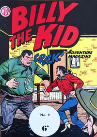 Cover Thumbnail for Billy the Kid Adventure Magazine (World Distributors, 1953 series) #9