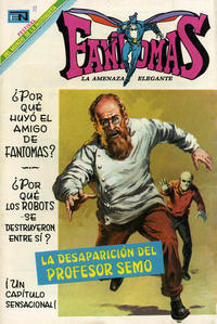 Cover Thumbnail for Fantomas (Editorial Novaro, 1969 series) #11