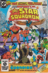 Cover Thumbnail for All-Star Squadron (DC, 1981 series) #25 [Direct]