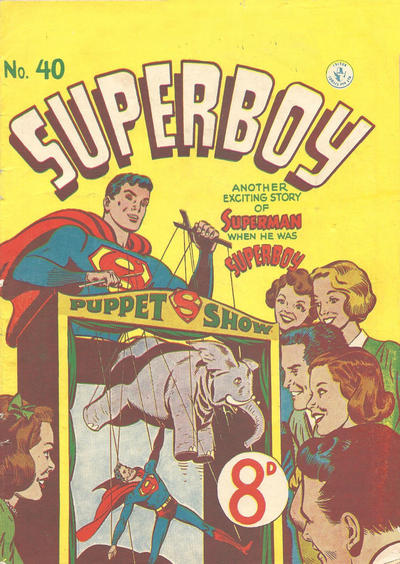 Cover for Superboy (K. G. Murray, 1949 series) #40 [6D]