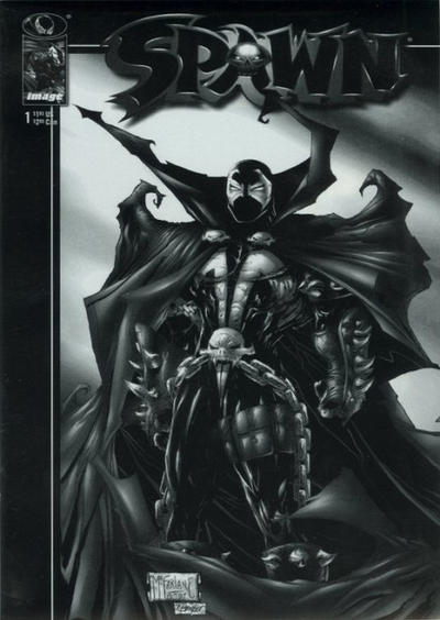 Cover for Spawn (Image, 1992 series) #1 [Direct]