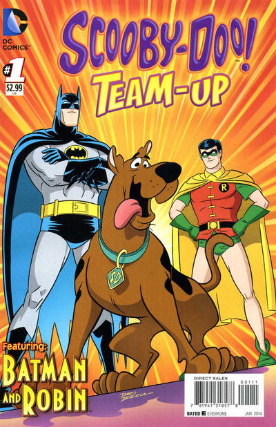 Cover for Scooby-Doo Team-Up (DC, 2014 series) #1 [Direct Sales]