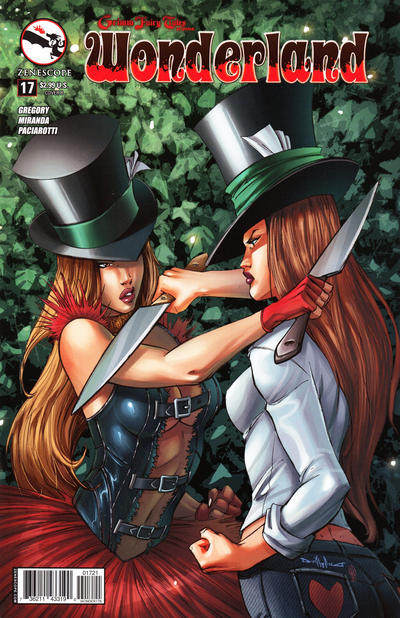 GCD :: Cover :: Grimm Fairy Tales Presents Wonderland #17