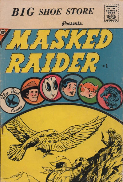 Cover for Masked Raider (Charlton, 1959 series) #1