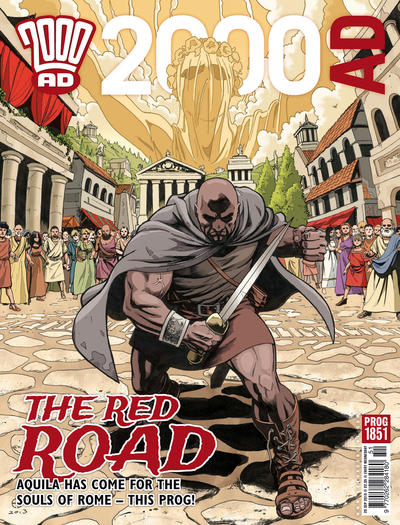 Cover for 2000 AD (Rebellion, 2001 series) #1851