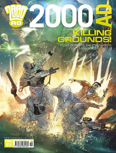Cover for 2000 AD (Rebellion, 2001 series) #1855