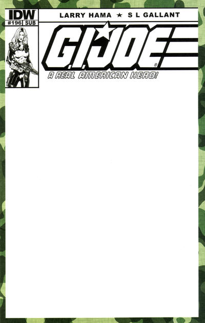 Cover for G.I. Joe: A Real American Hero (IDW, 2010 series) #196