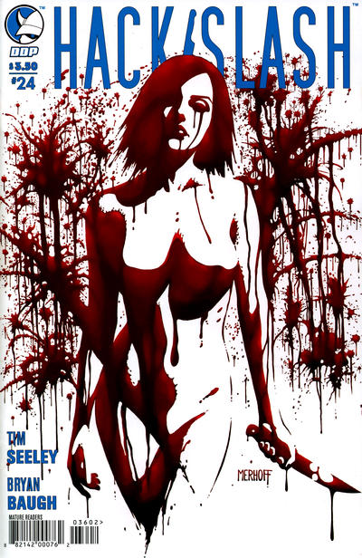 Cover for Hack/Slash: The Series (Devil's Due Publishing, 2007 series) #24 [Cover A Tim Seeley]