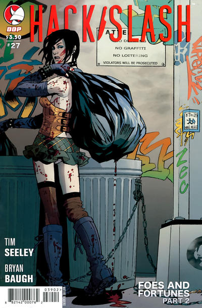 Cover for Hack/Slash: The Series (Devil's Due Publishing, 2007 series) #27 [Cover B]