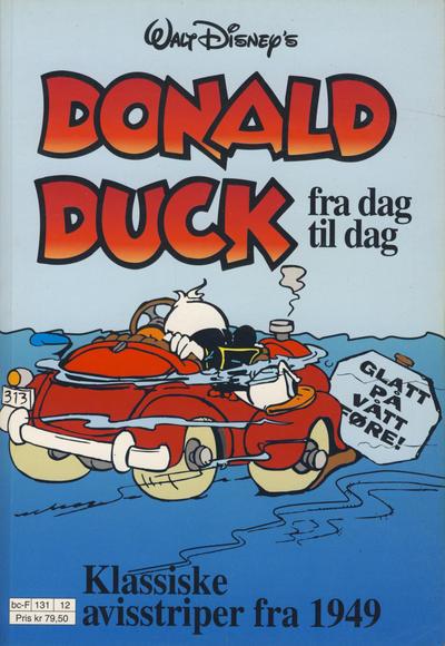 Cover for Donald Duck Fra Dag Til Dag (Hjemmet / Egmont, 1987 series) #12