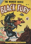 Cover for Black Fury (World Distributors, 1955 series) #4