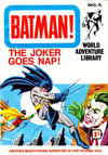 Cover for Batman World Adventure Library (World Distributors, 1966 series) #5