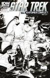 Cover Thumbnail for Star Trek (2011 series) #27 [Cover RI Sketch Art by Garrie Gastonny]